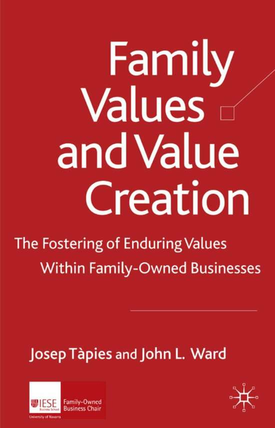 Family Values and Value Creation