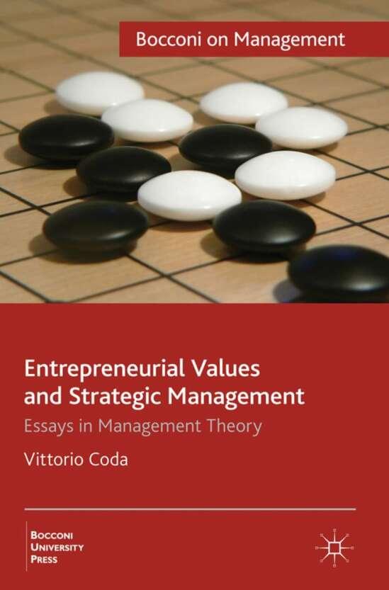 Entrepreneurial Values and Strategic Management