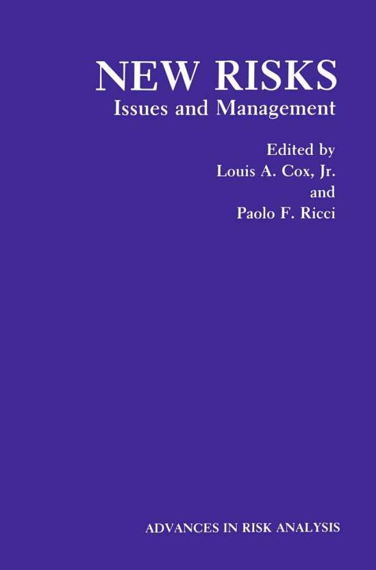 New Risks: Issues and Management