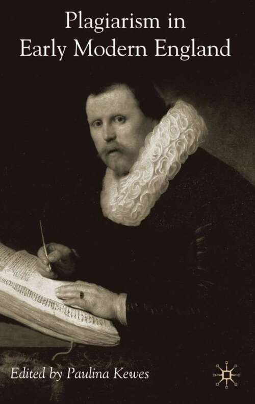 Plagiarism in Early Modern England
