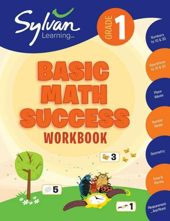 1st Grade Basic Math Success Workbook