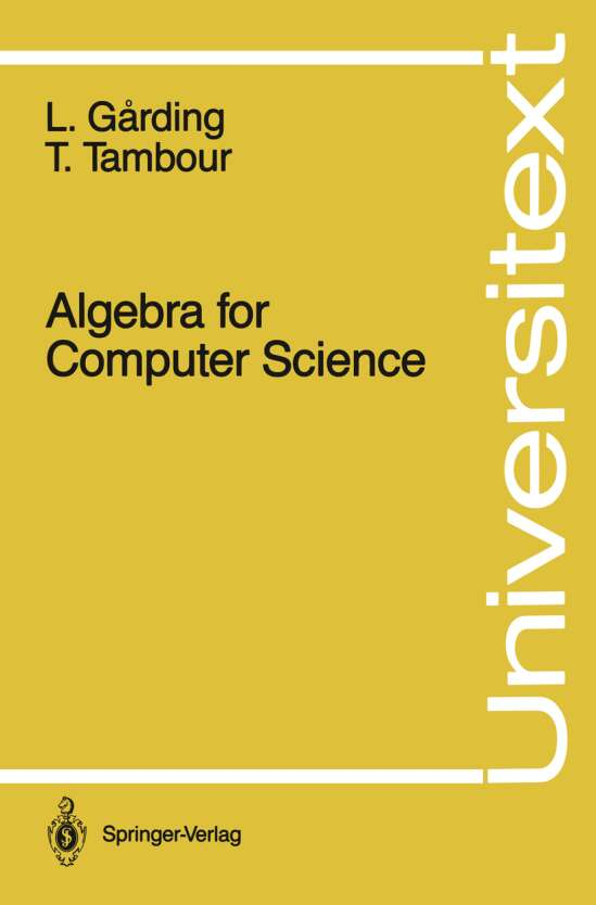 Algebra for Computer Science