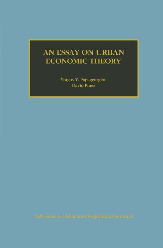 An Essay on Urban Economic Theory