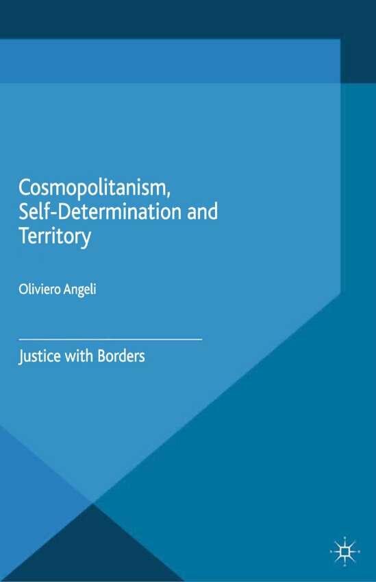 Cosmopolitanism, Self-Determination and Territory
