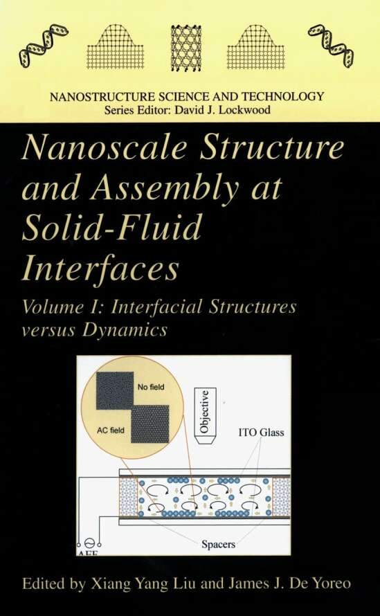 Nanoscale Structure and Assembly at Solid-Fluid Interfaces