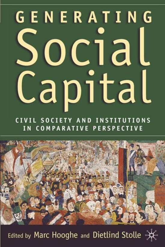 Generating Social Capital