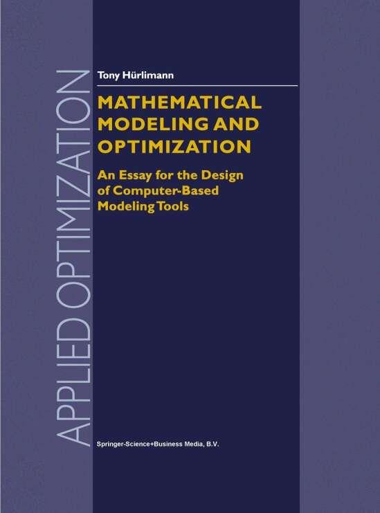 Mathematical Modeling and Optimization