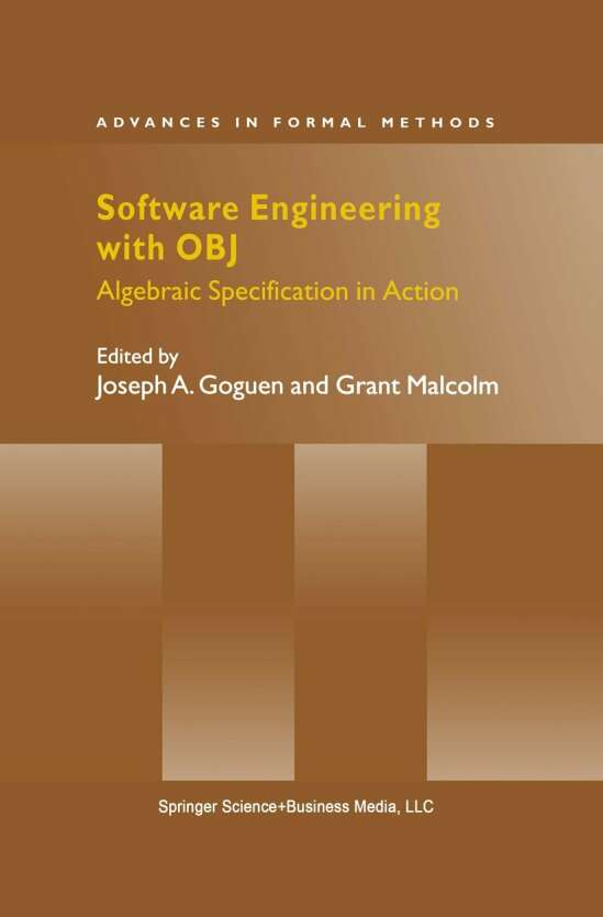 Software Engineering with OBJ