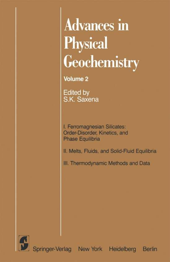 Advances in Physical Geochemistry