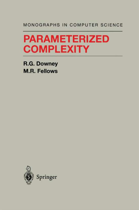 Parameterized Complexity