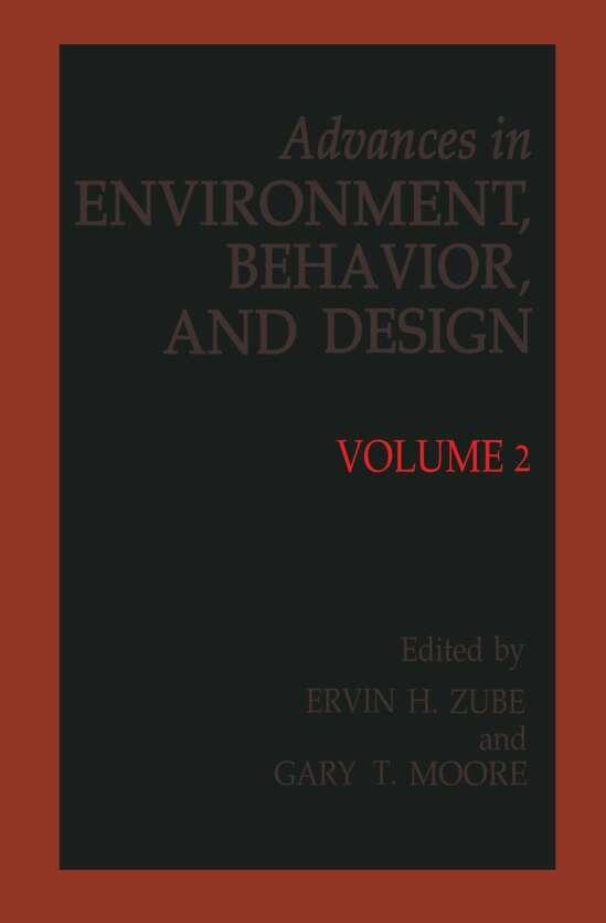 Advances in Environment, Behavior and Design