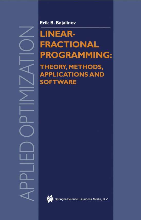 Linear-Fractional Programming Theory, Methods, Applications and Software