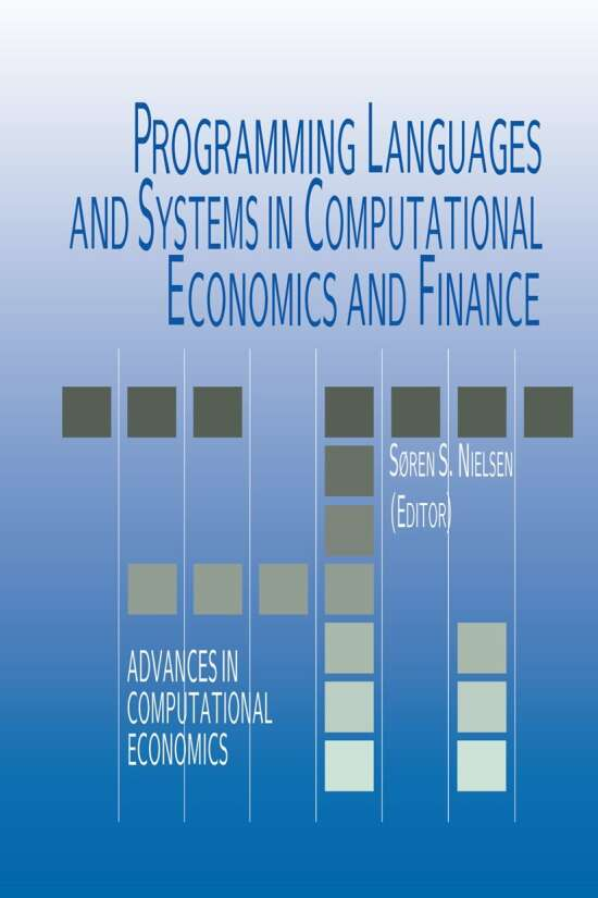 Programming Languages and Systems in Computational Economics and Finance