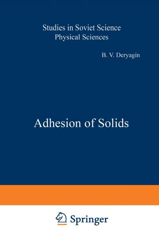 Adhesion of Solids