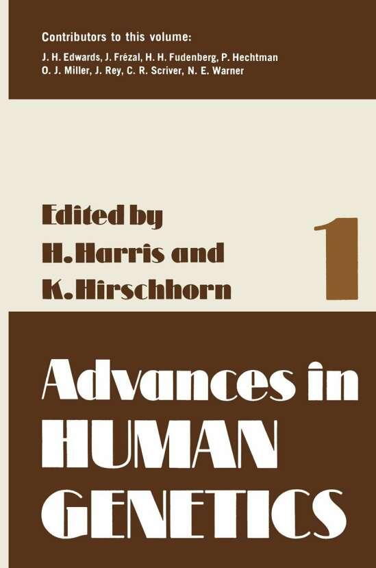 Advances in Human Genetics 1
