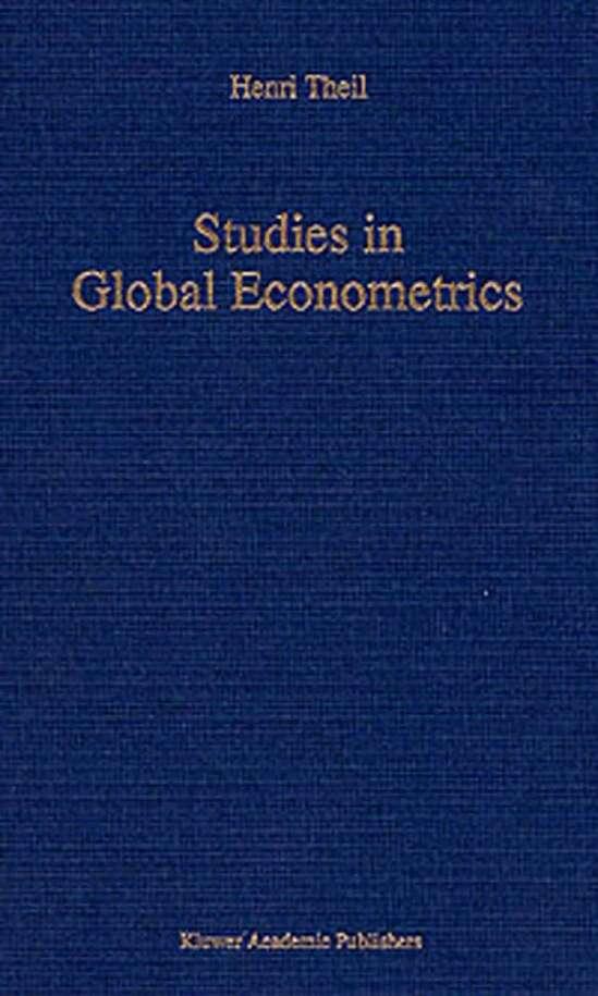 Studies in Global Econometrics