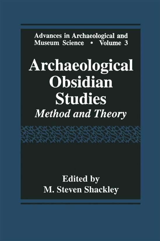 Archaeological Obsidian Studies