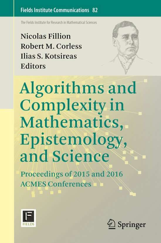 Algorithms and Complexity in Mathematics, Epistemology, and Science