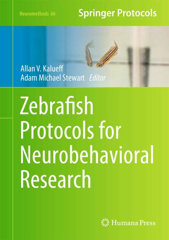 Zebrafish Protocols for Neurobehavioral Research