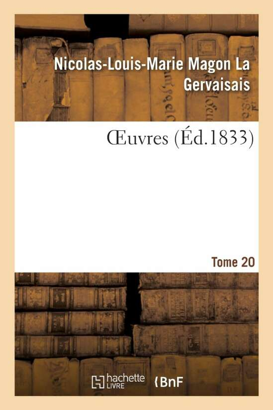 OEuvres. Tome 20