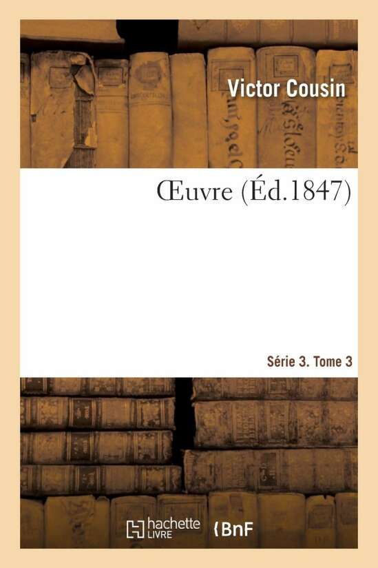 OEuvre. Série 3. Tome 3