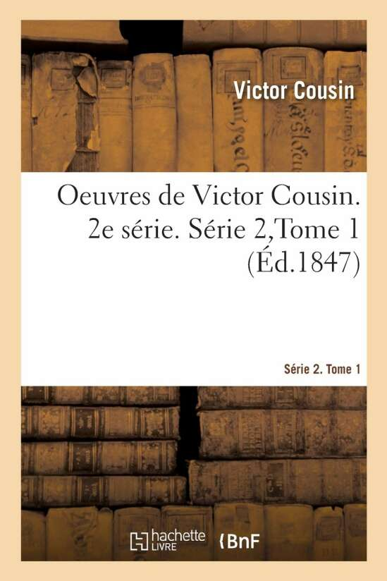 OEuvres. Série 2. Tome 1