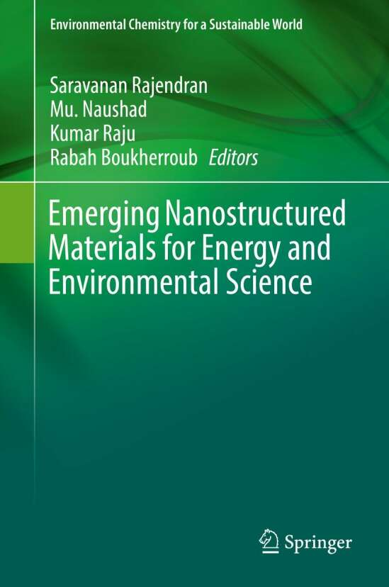 Emerging Nanostructured Materials for Energy and Environmental Science