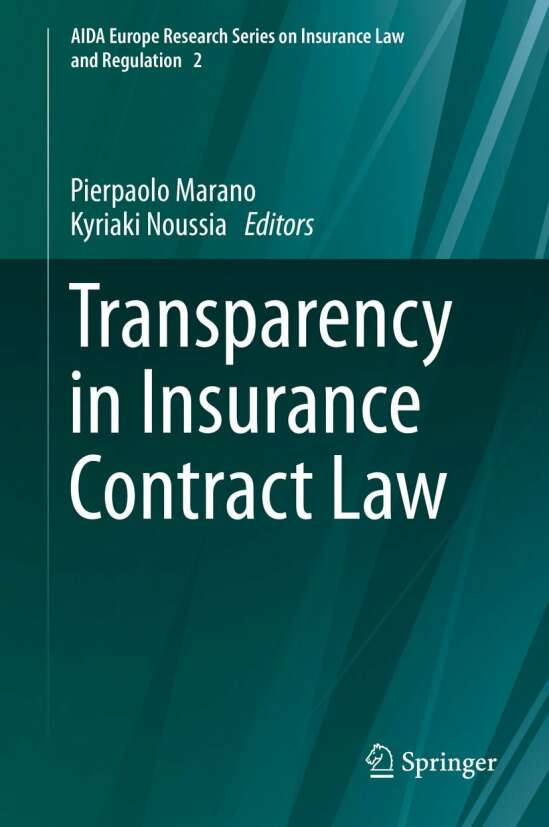 Transparency in Insurance Contract Law