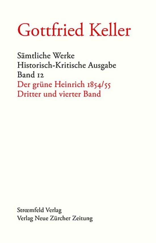 Sämtliche Werke. Historisch-Kritische Ausgabe / Sämtliche Werke. Historisch-Kritische Ausgabe, Band 12