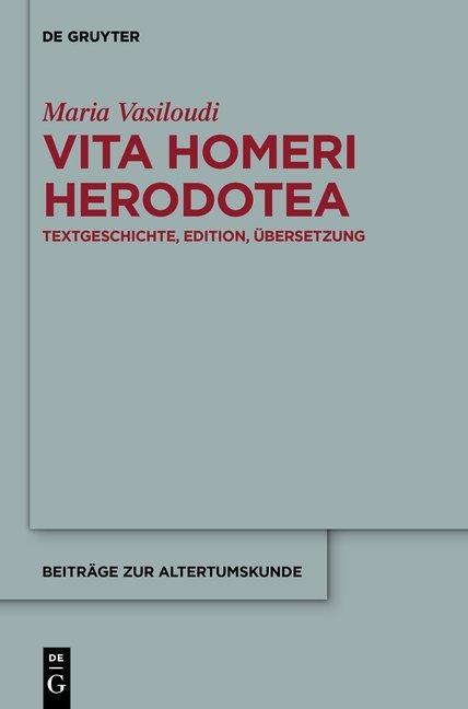 Vita Homeri Herodotea