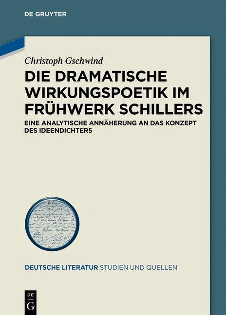 Die dramatische Wirkungspoetik im Frühwerk Schillers