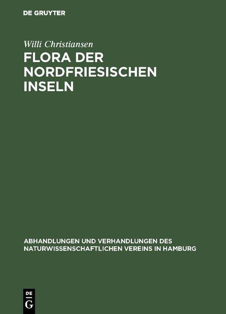 Flora der Nordfriesischen Inseln