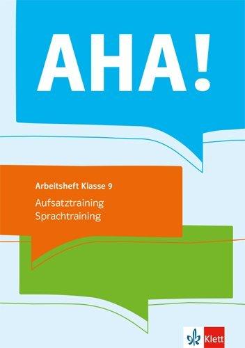 AHA! 9. Aufsatztraining / Sprachtraining