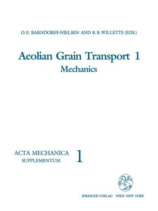 Aeolian Grain Transport 1