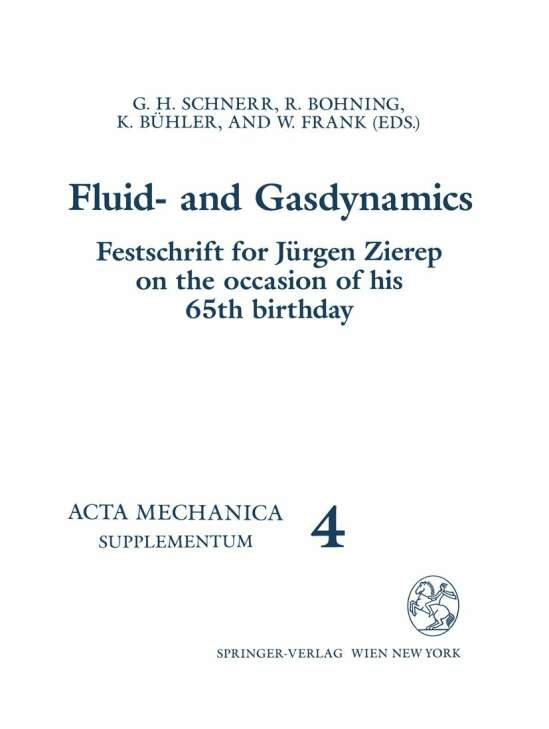 Fluid- and Gasdynamics