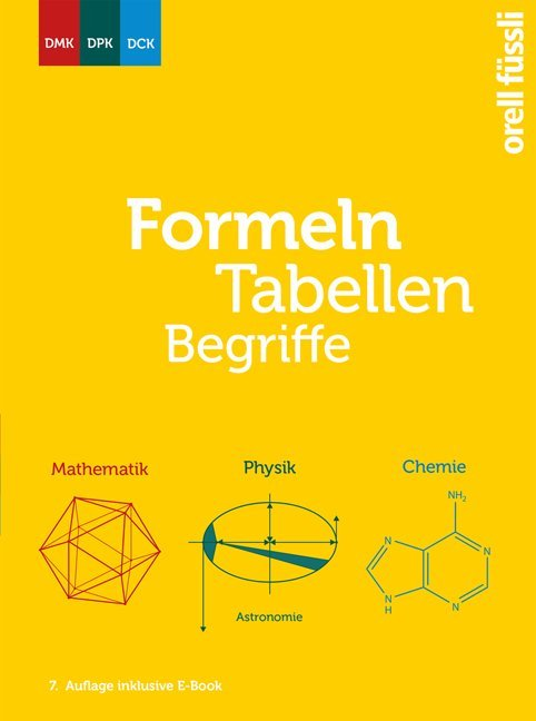Formeln, Tabellen, Begriffe – inkl. E-Book