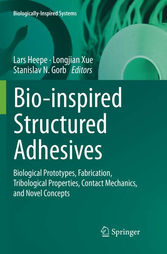 Bio-inspired Structured Adhesives