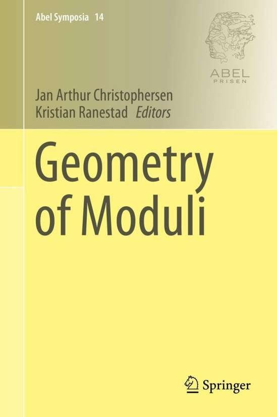 Geometry of Moduli
