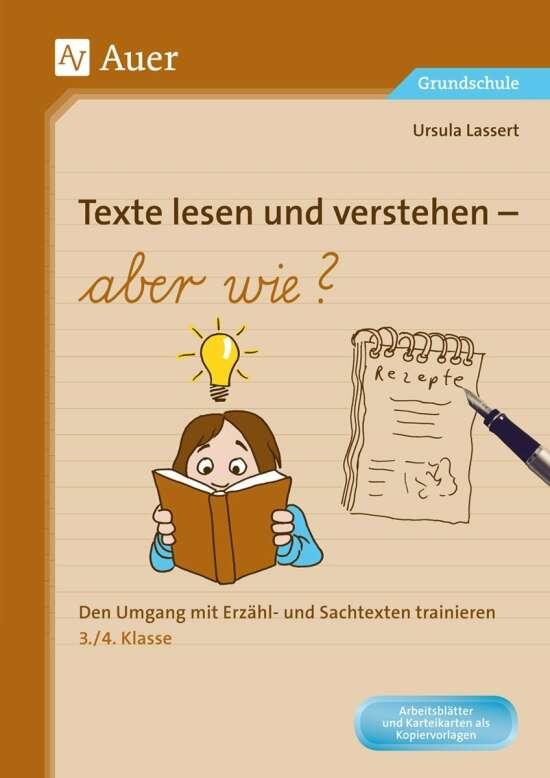 Texte lesen und verstehen - aber wie?