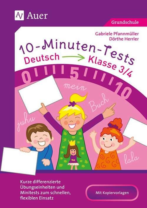 10-Minuten-Tests Deutsch - Klasse 3/4
