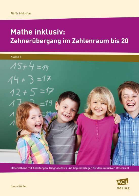 Mathe inklusiv: Zehnerübergang im ZR bis 20