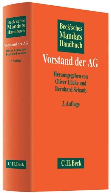 Beck'sches Mandatshandbuch Vorstand der AG