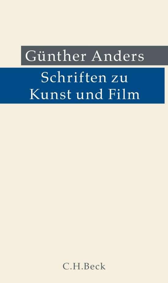 Schriften zu Kunst und Film