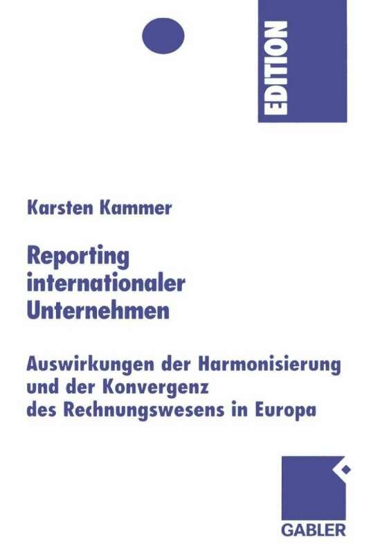 Reporting internationaler Unternehmen
