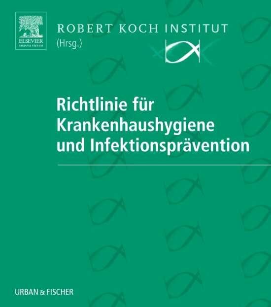 Richtlinie für Krankenhaushygiene und Infektionsprävention in 2 Ordnern