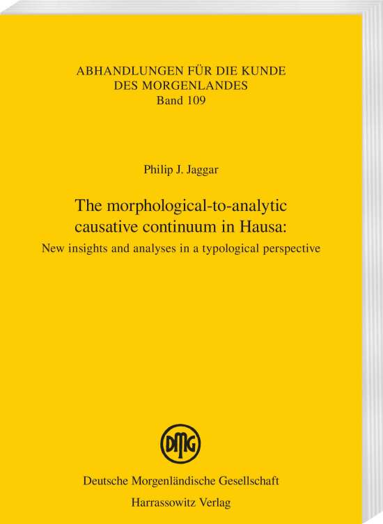 The morphological-to-analytic causative continuum in Hausa: