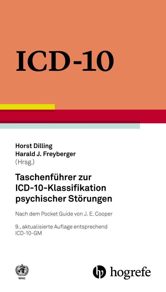 Taschenführer zur ICD–10–Klassifikation psychischer Störungen