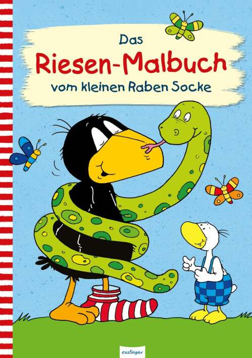 Der kleine Rabe Socke: Das Riesen-Malbuch vom kleinen Raben Socke