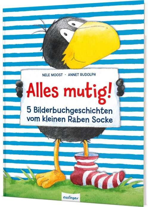 Der kleine Rabe Socke: Alles mutig! 5 Bilderbuchgeschichten vom kleinen Raben Socke