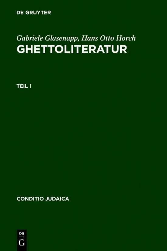 Ghettoliteratur